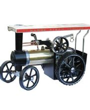 Mamod Traction Engine - Brass